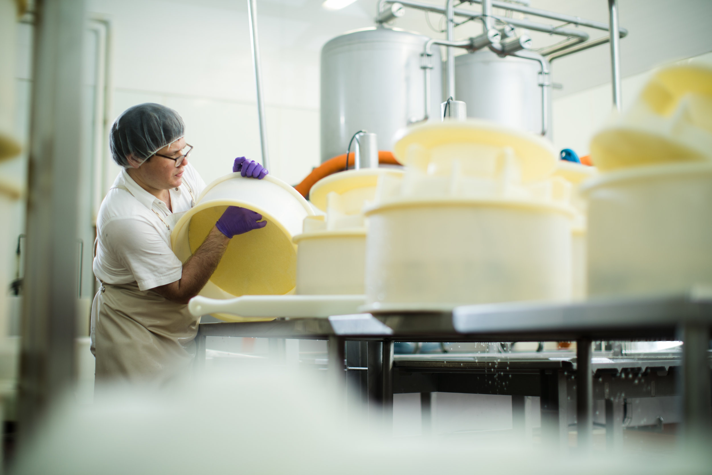 Turning the Cheese
