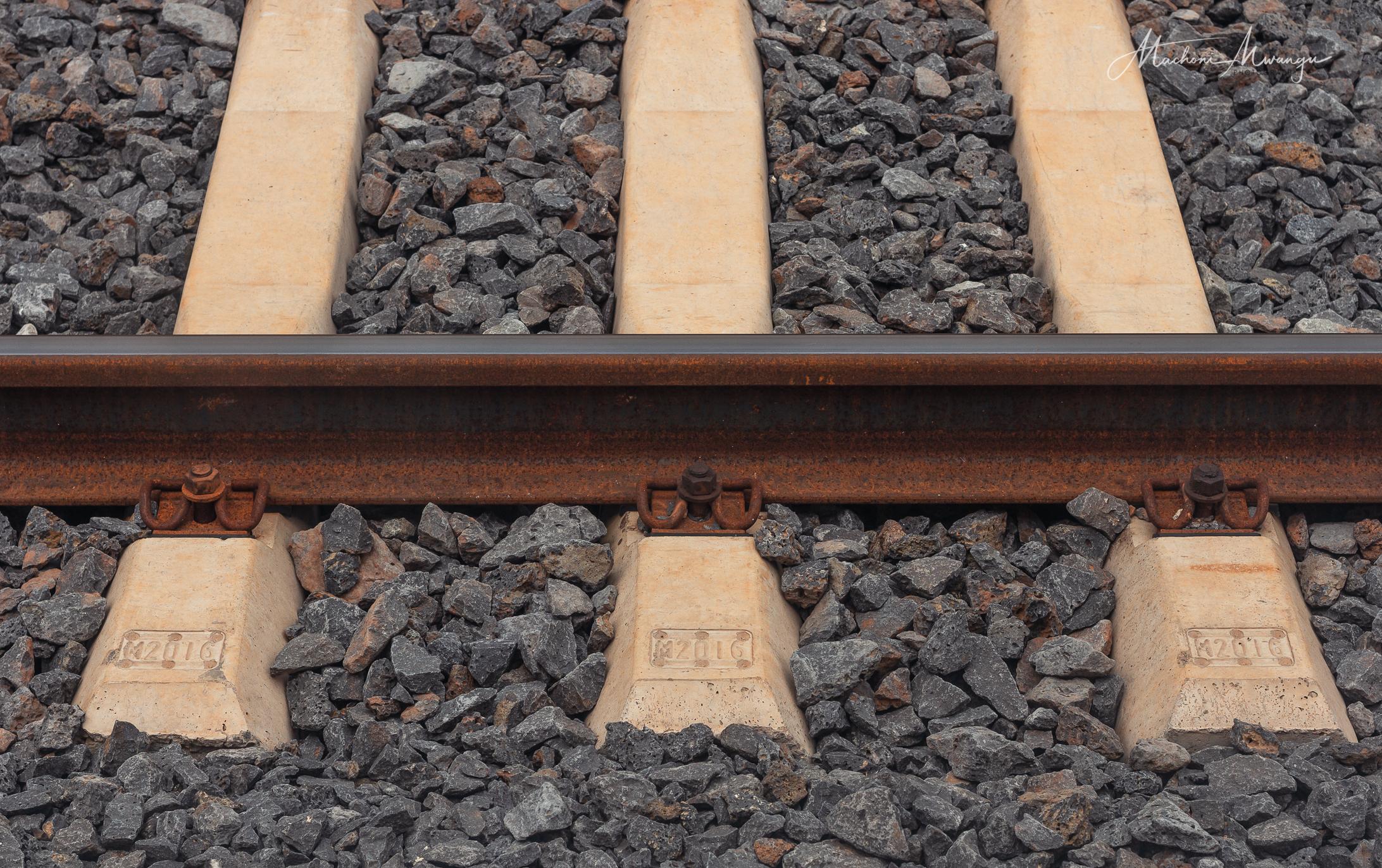 Railway line does get Rusty