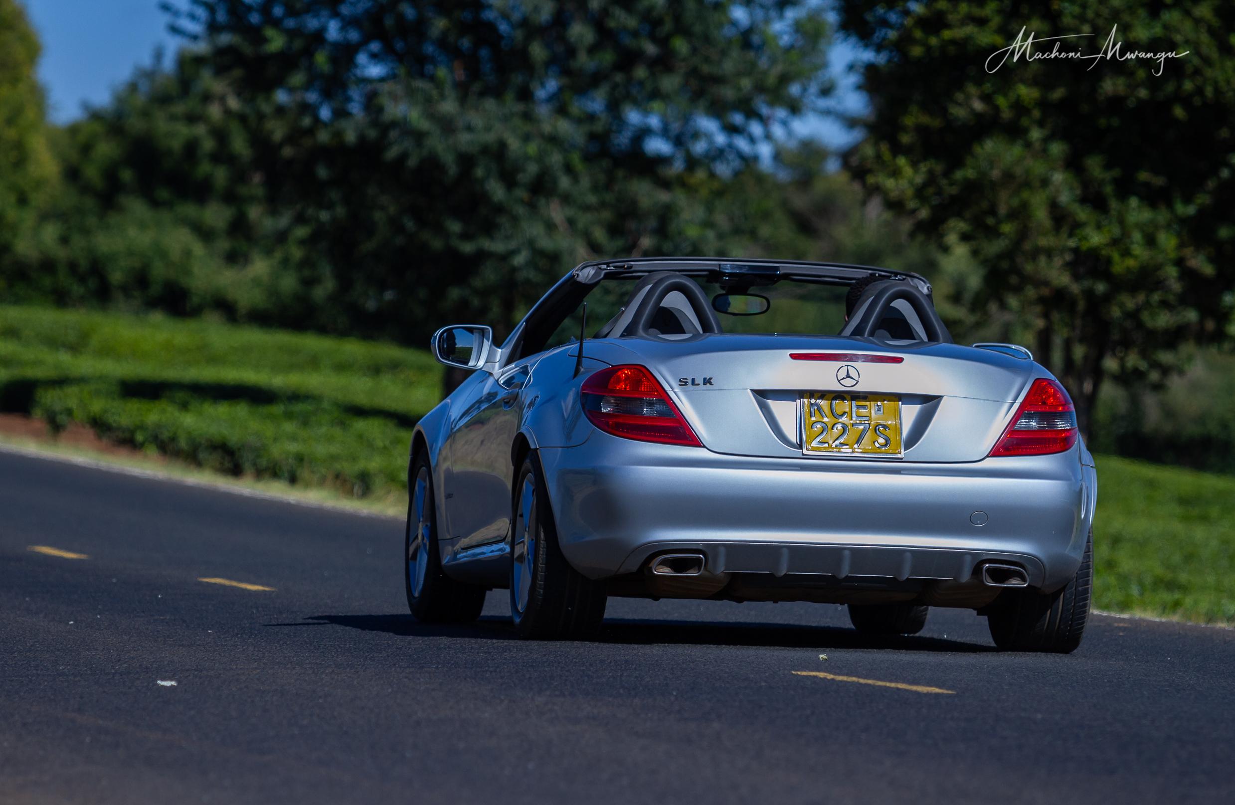 Mercedes SLK Dropped Top