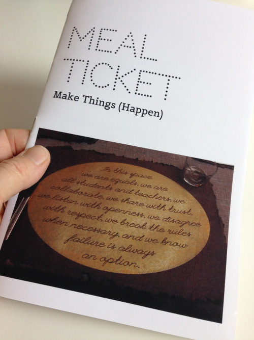 Resulting book for Make Things (Happen)