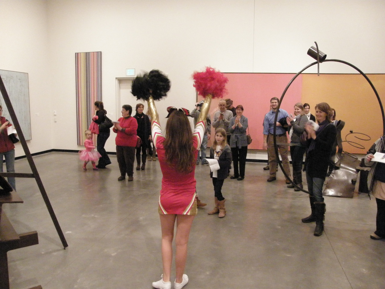 Museum Tour Remix: Cheers for Art, with professional cheerleader Stephanie Drachman
