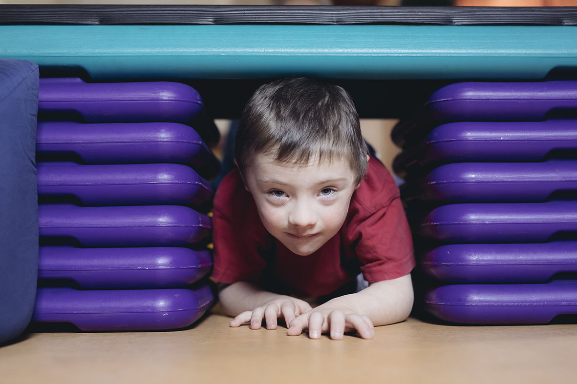 Durch bewegtes Spielen und Tun wird der Selbstwert der Kinder aufgebaut und gestärkt. (c)  Marija Kanzizaj