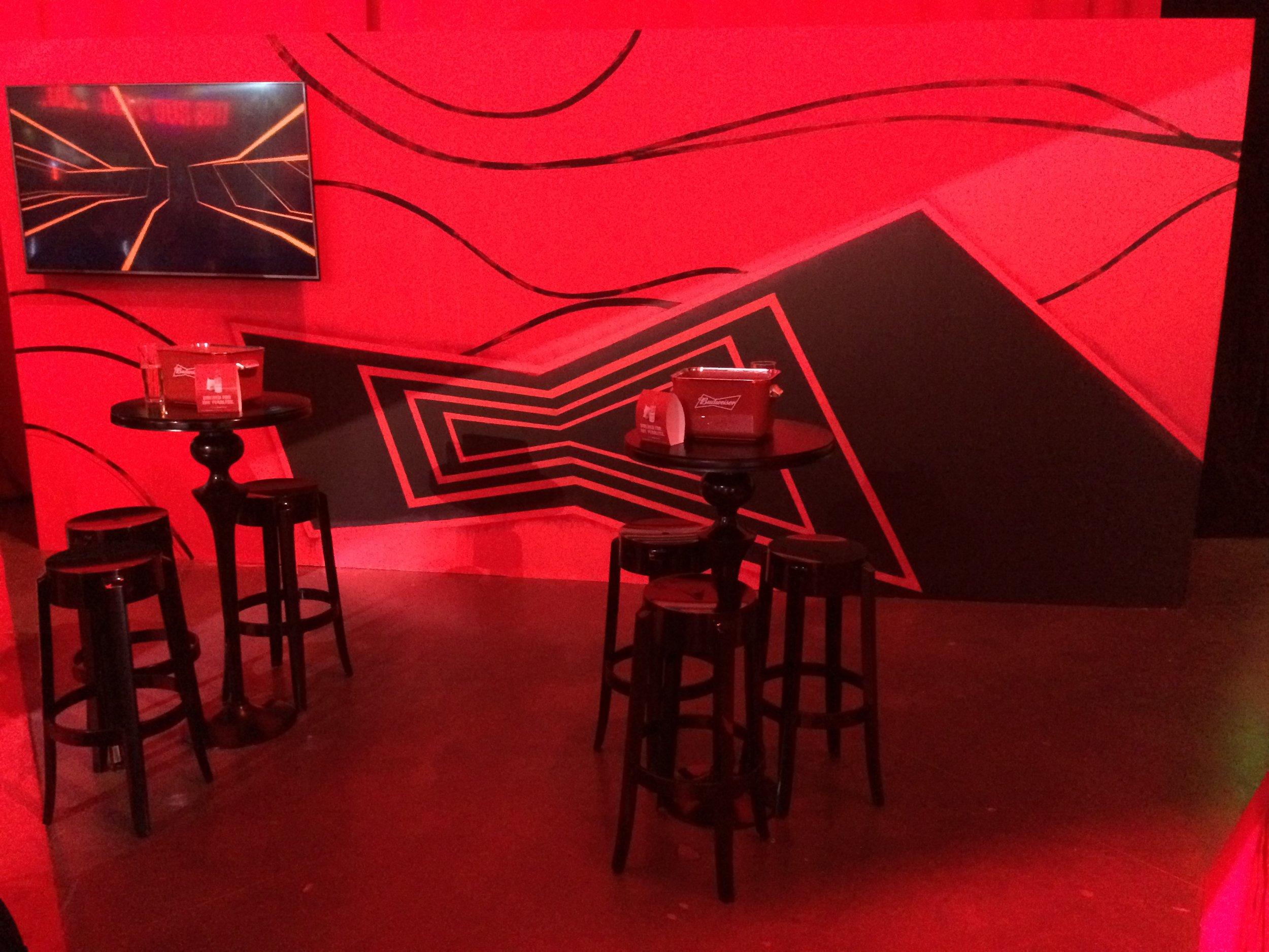 Budweiser Mural for Anheuser-Busch Event