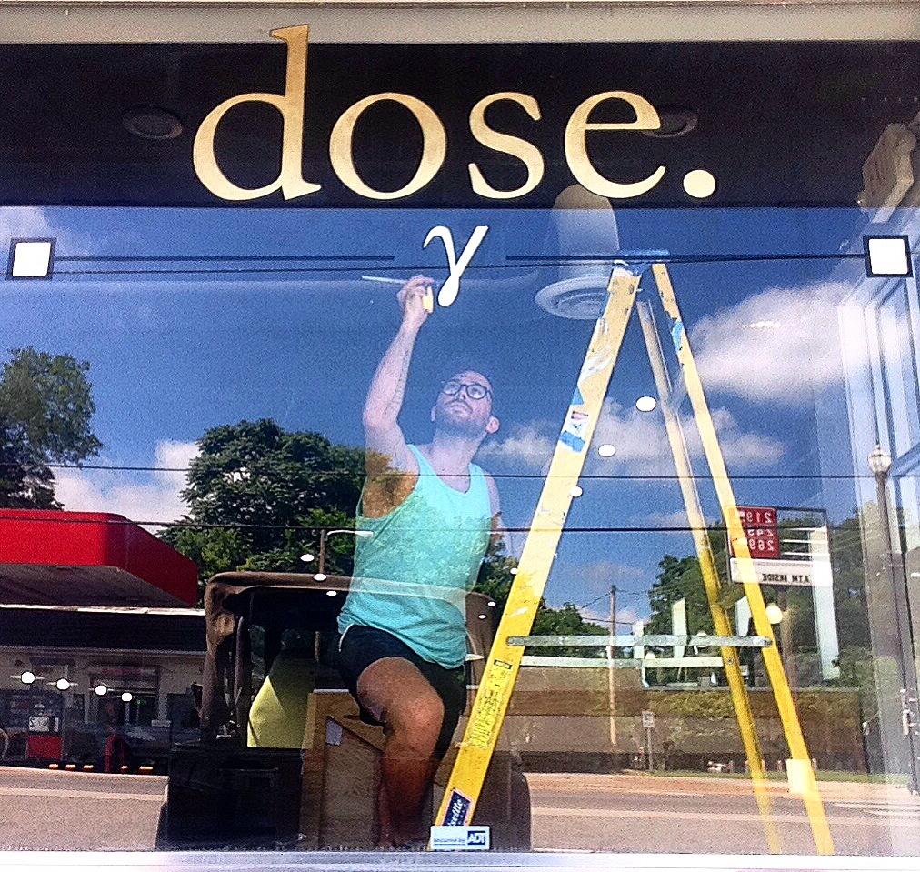 Dose Coffee & Dram Bar Signage