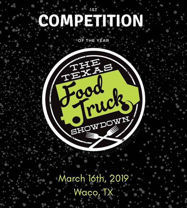 It's our first big competition of the year! The Texas Food Truck Showdown and this year we are leaving with a trophy. So come grabe some Rueben Eggrolls and cheer us to victory! . . .  #food #foodie #foodart #foodtruck #dentoning #denton #farmtofoodtruck #farmtotable #txfoodtruck #txfoodies #foodporn #UNT #gomeangreen #flowermound #flomo #foodporn #outdoorkitchen #lantana #texas #local #barbeque #waco #tfts #winning