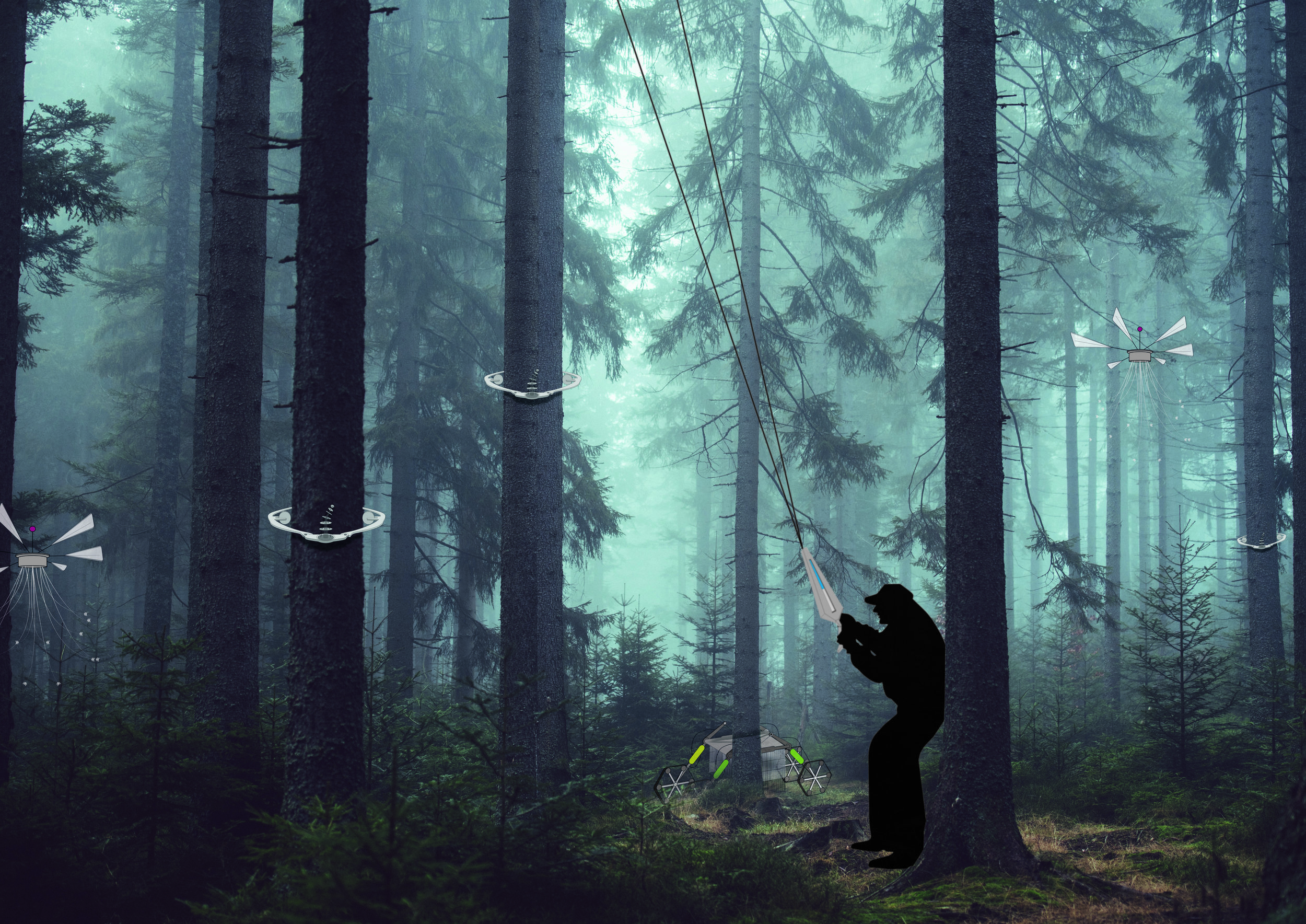 TECHNOLOGICAL INVENTIONS AS FOREST GUARDS