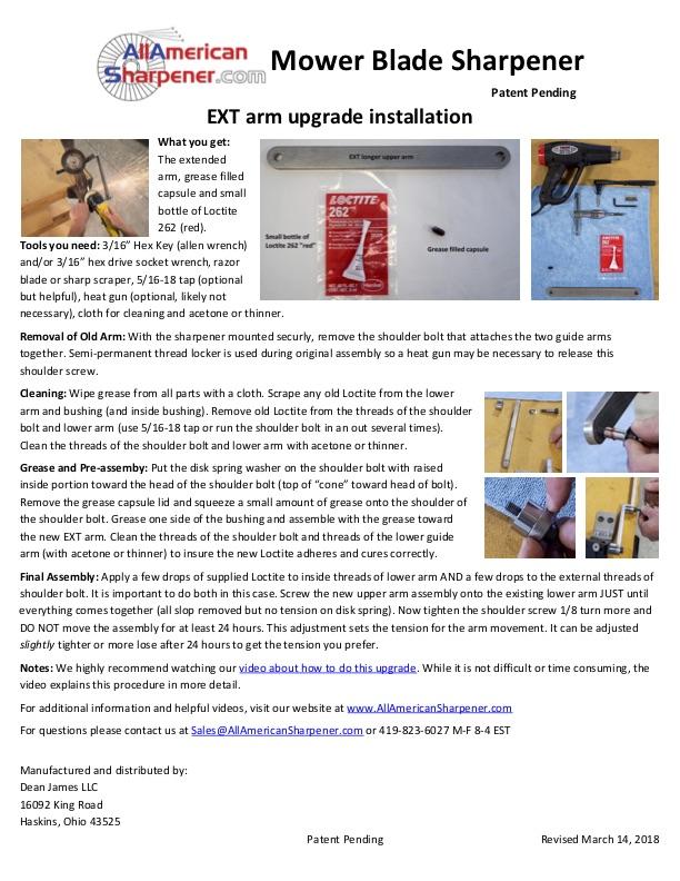 EXT Upgrade -