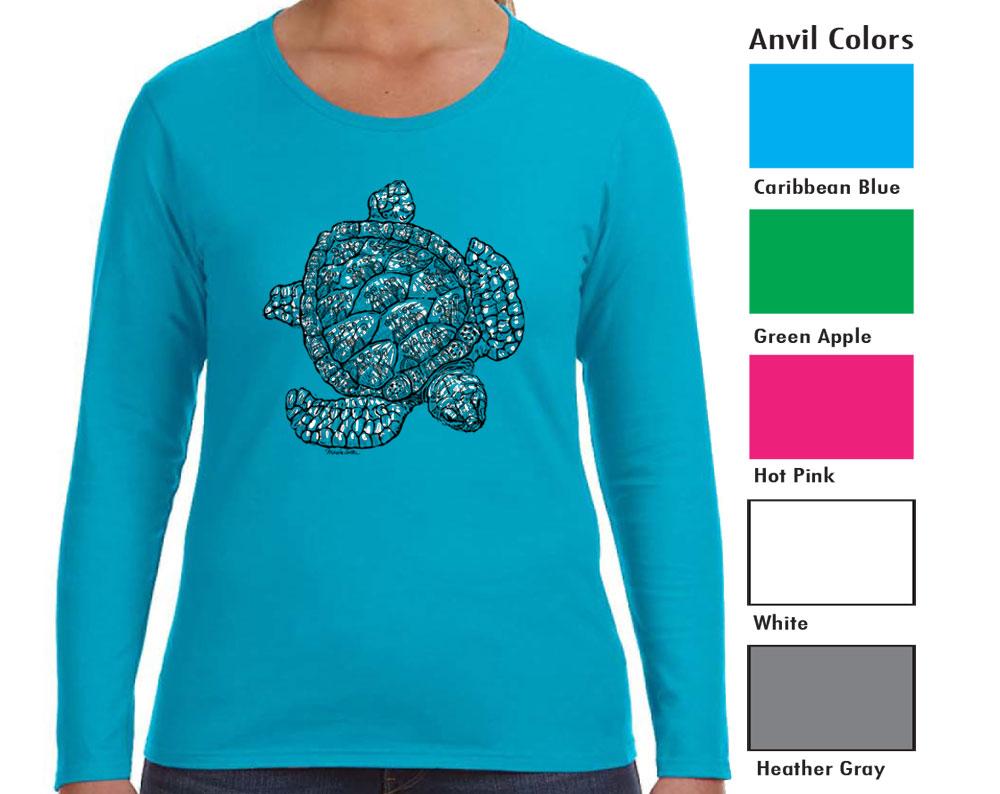 Anvil 884L Women's Long Sleeve T