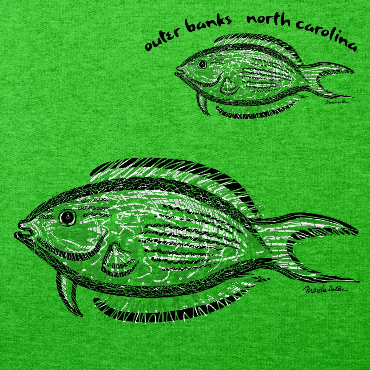 751B Fish Left Chest