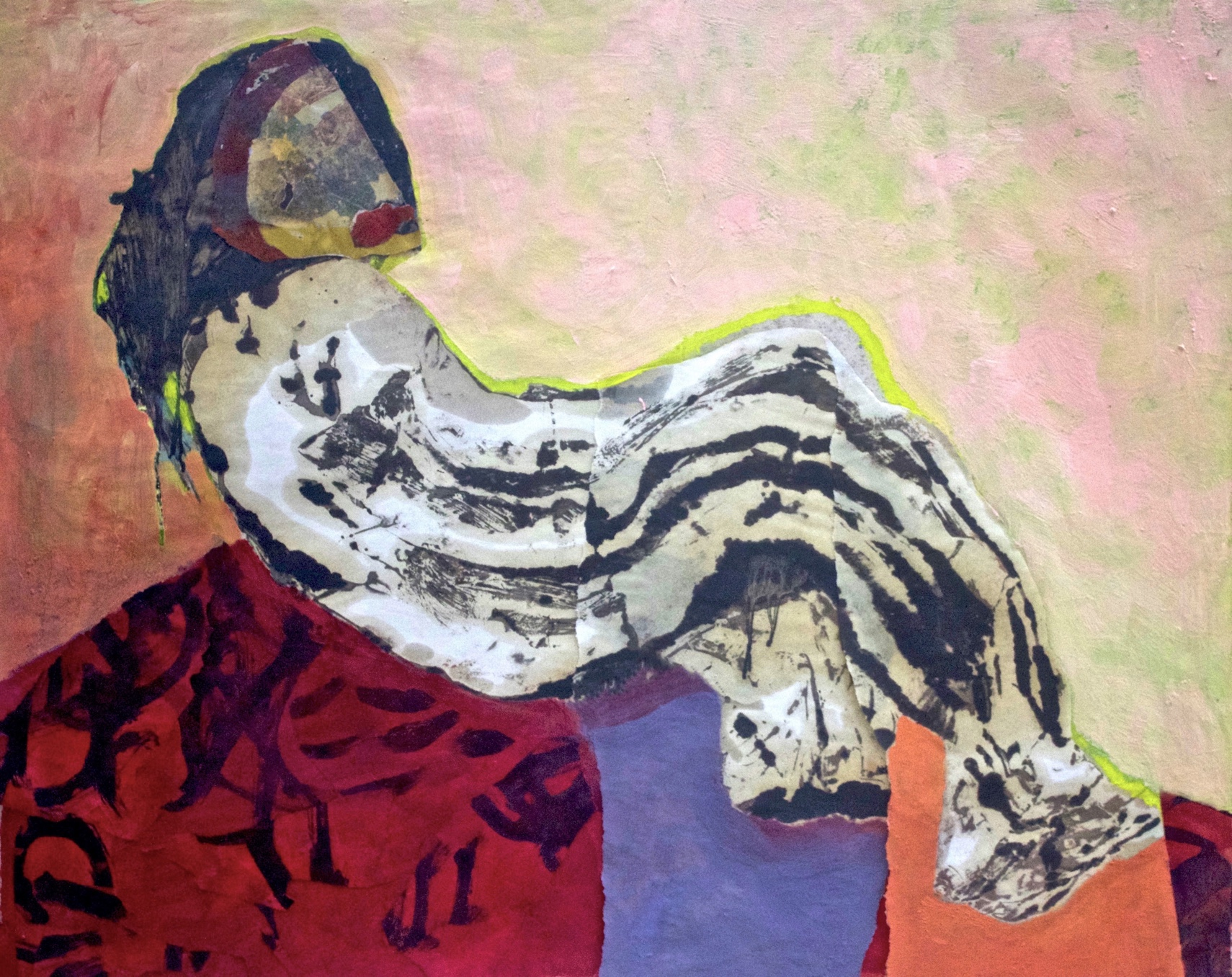 Hildy Maze - Honorable MentionHildy Maze is an American artist born in Brooklyn, NY. She received a BFA from Pratt Institute. Her work is influenced by her 25-year study and practice of Tibetan Buddhist meditation. Hildy is best known for her oil on paper abstract contemplative drawing, painting collages, exploring the investigation of mind through art. Though her process and handling of materials she intimately describes ways the flawless nature of the essence and expression of the mind is hidden from our recognition. Hildy has exhibited her work throughout the U.S. including NYC, Long Island City, Brooklyn, California, Beijing, China. She has won numerous awards and is in several private collections in the U.S, Europe, and Asia. Hildy presently lives in East Hampton, NY.www.hildymaze.com