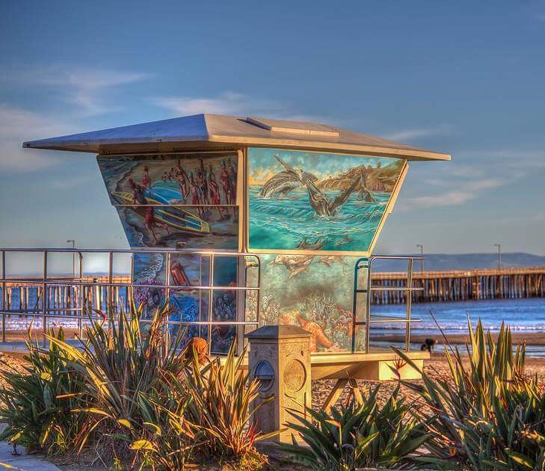 Avila Beach Lifeguard Towers - 2017Avila Beach, Ca.