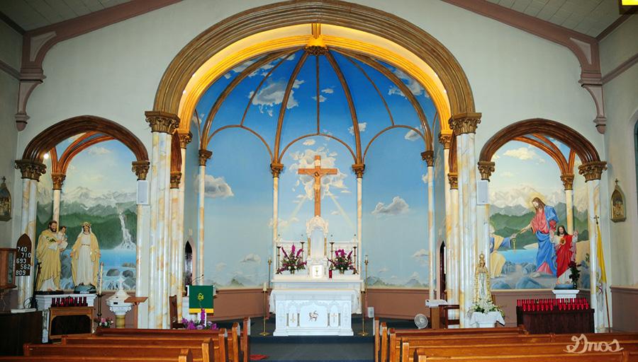 St. Peters Catholic church - 1999Dixon, Ca.