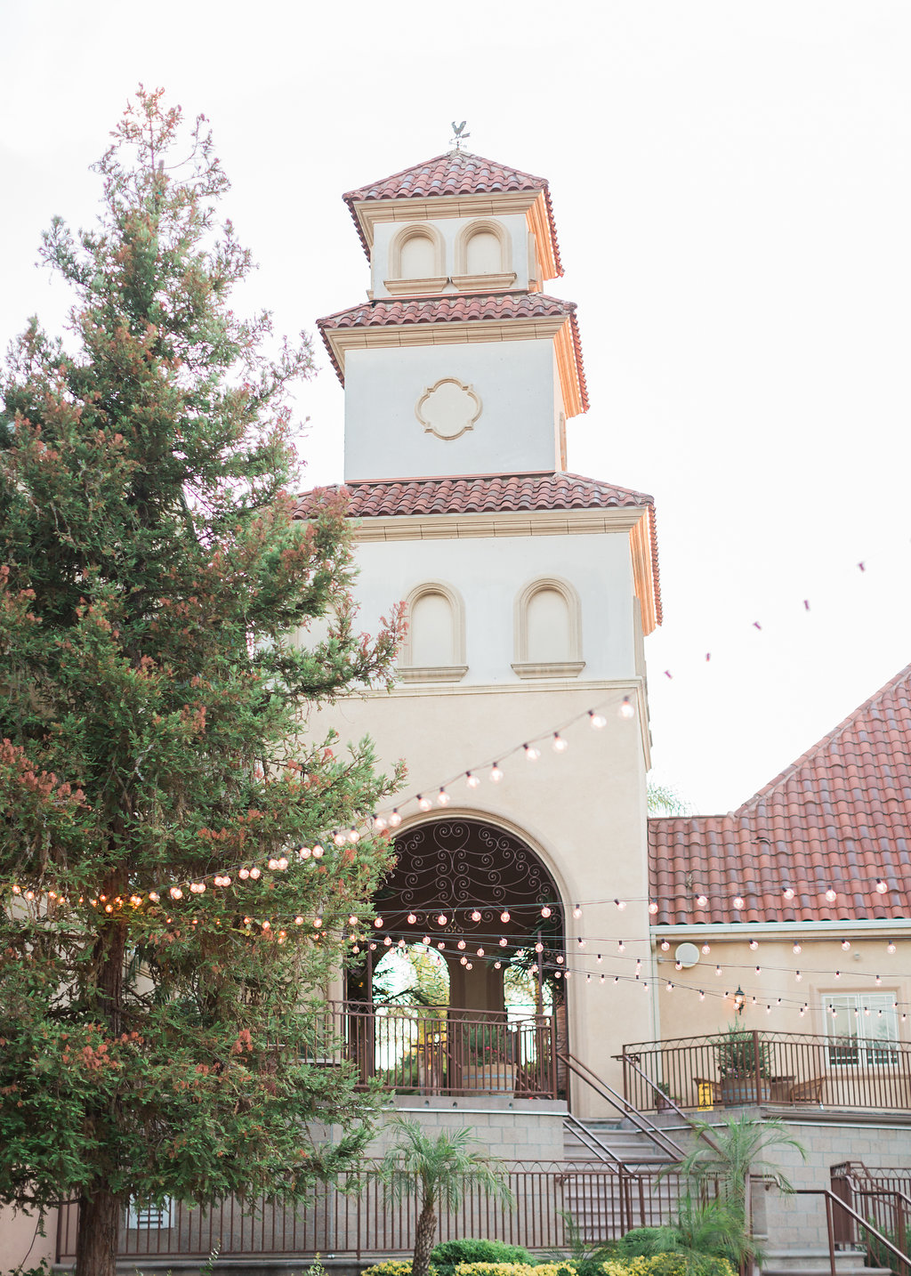 South Coast Winery Bell Tower Wedding Reception