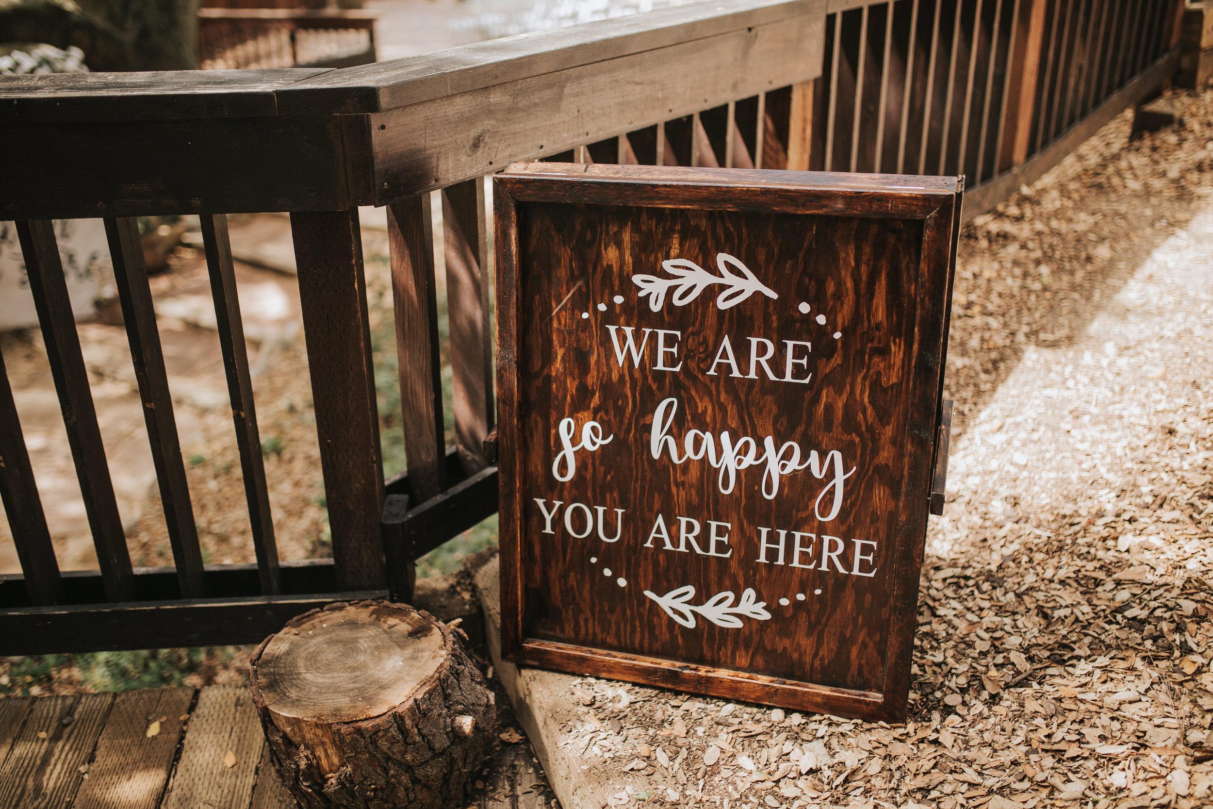 The 1909, The 1909 Wedding, Topanga Canyon Wedding, wedding welcome sign ideas