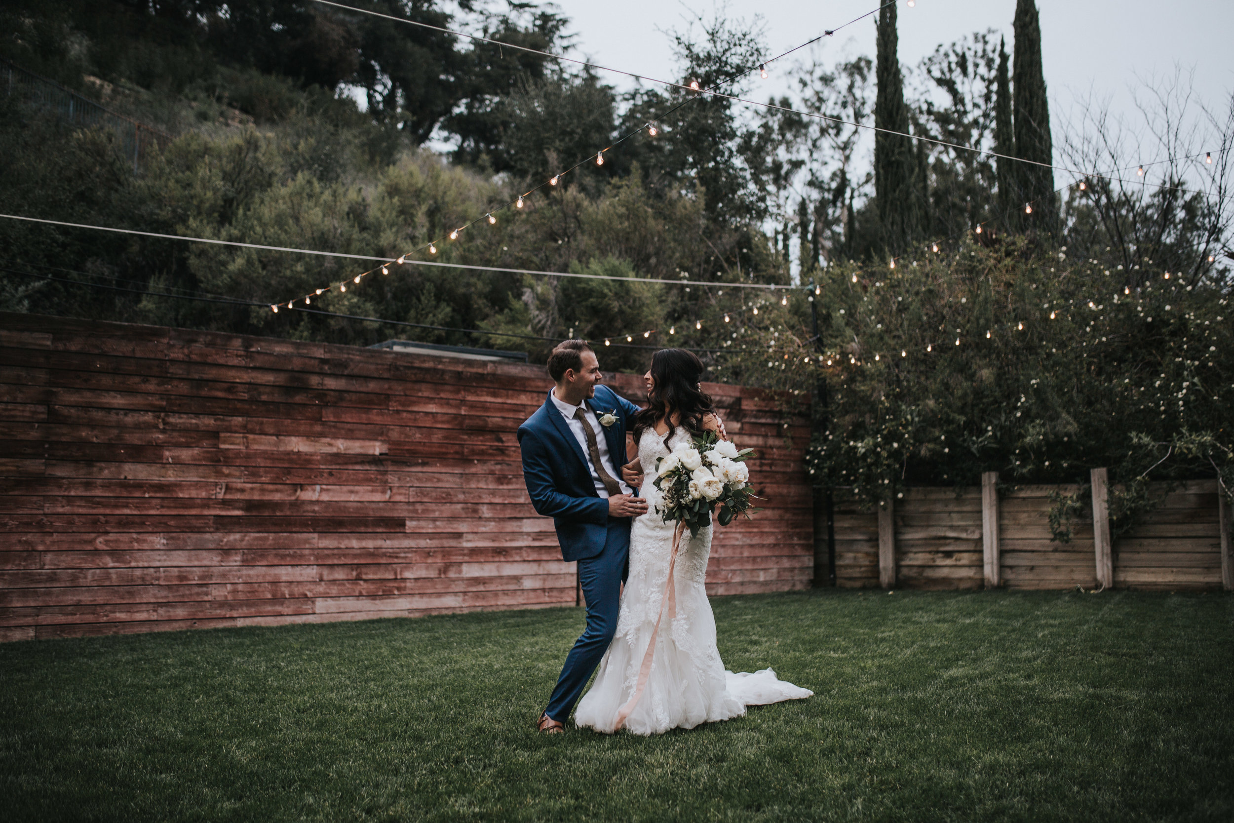 The 1909, The 1909 Wedding, Topanga Canyon Wedding, white peony bridal bouquet, eucalyptus bridal bouquet, white spray rose bouquet