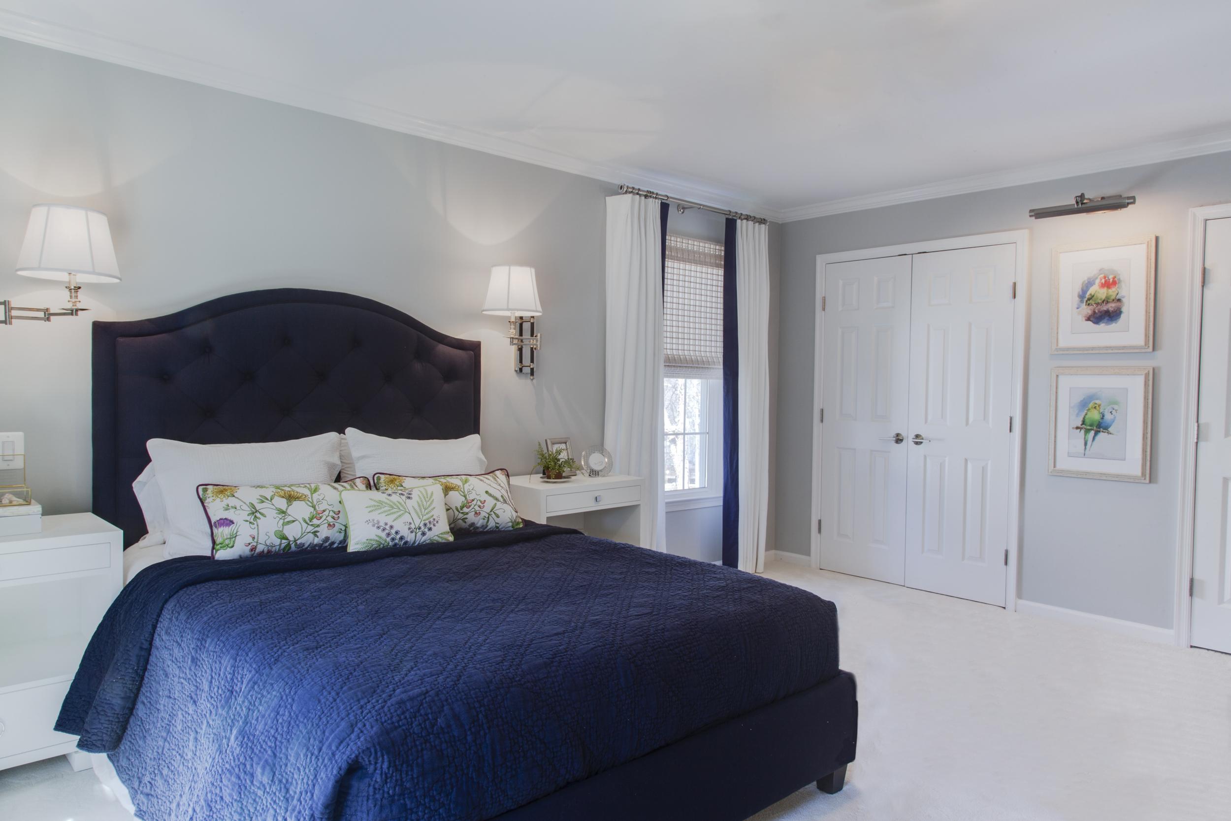 Elegant Master Bedroom Bath Maria Causey Interior Design