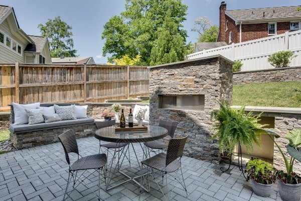 AFTER: Outdoor Living Space