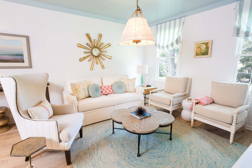 From our Beachy Suburb project in Fairfax, VA