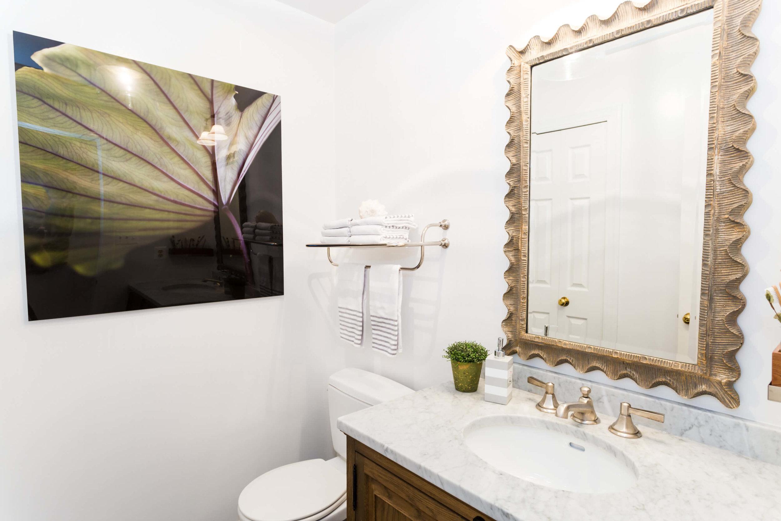 Breezy Bathroom Makeover -