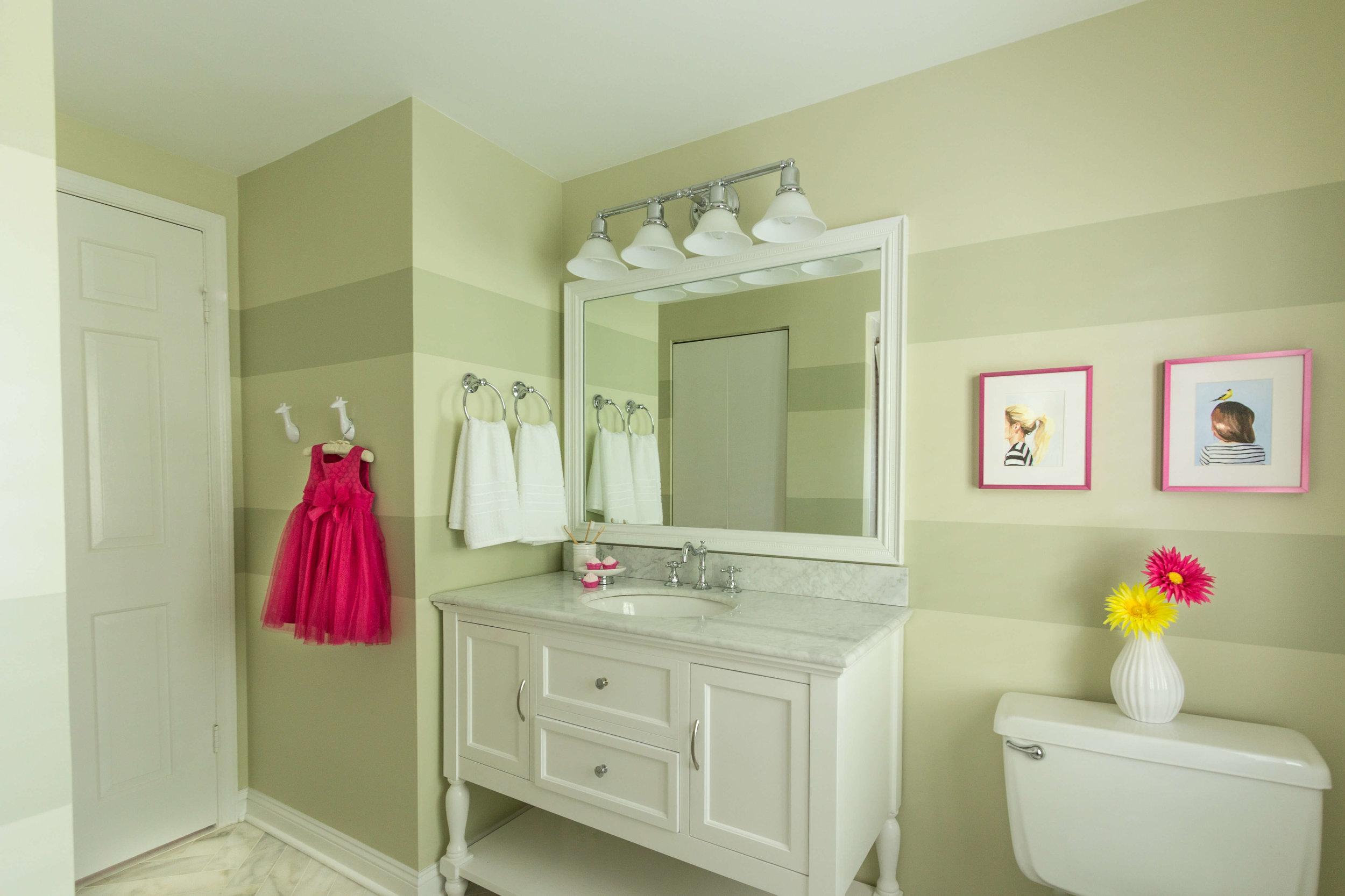 Little Girl's Bathroom -