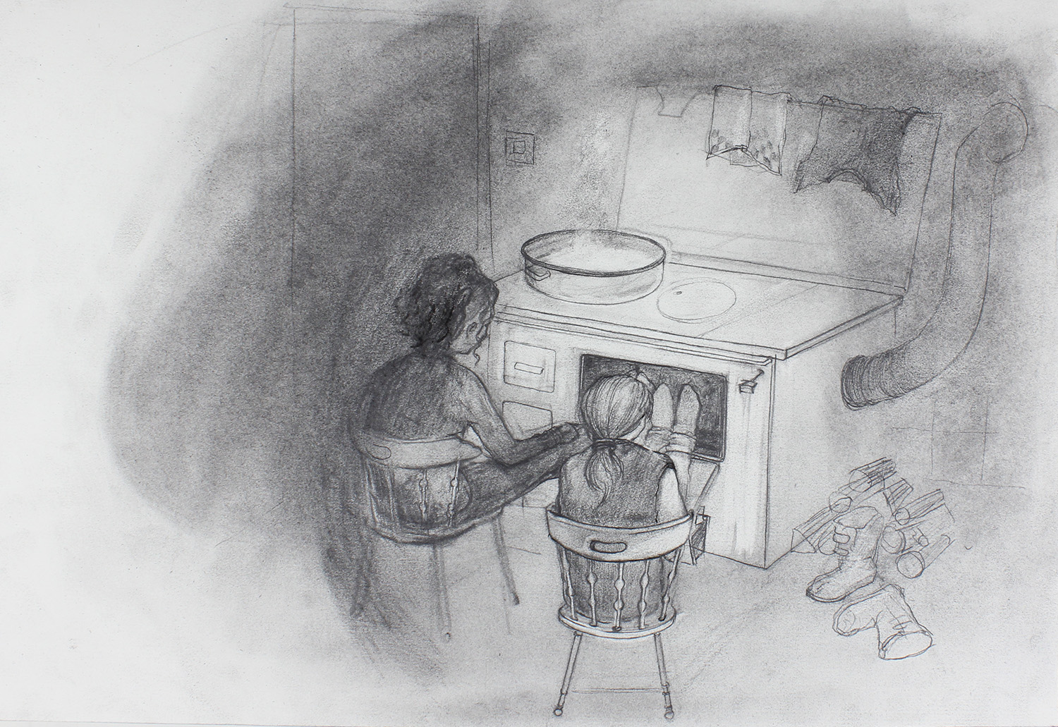 Passage _ Kitchen  scene_Animation still