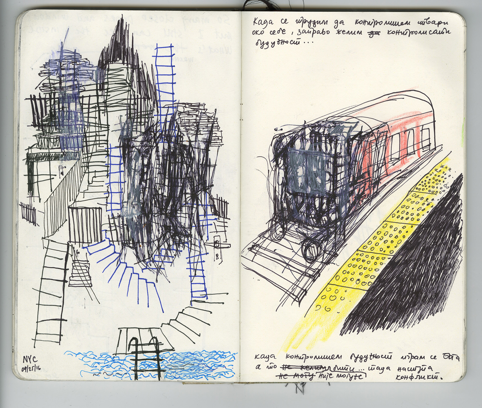 Travel Journal_Sketchbook