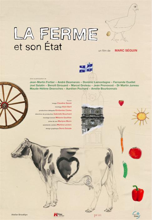Affiche officielle La Ferme et son État