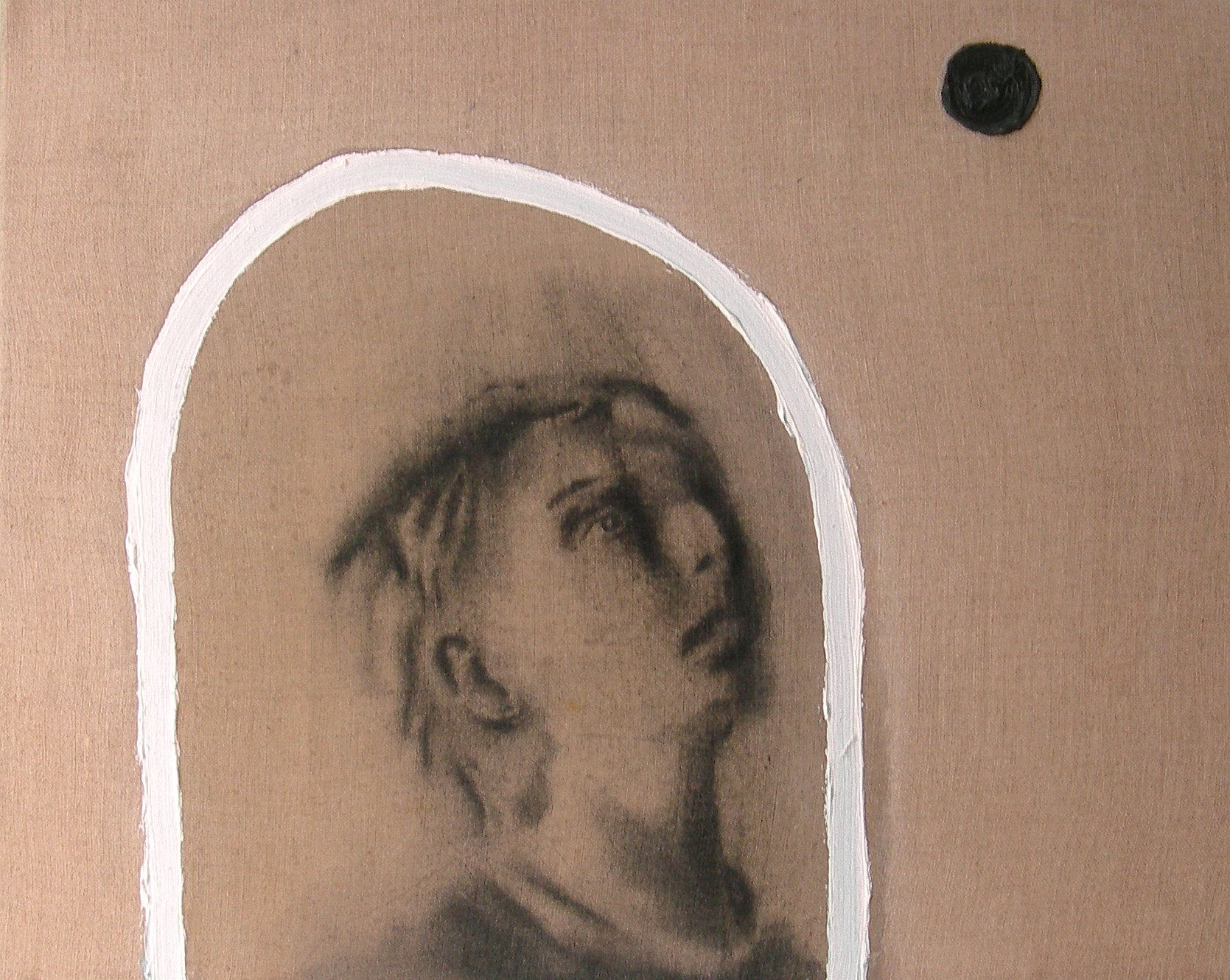 Rêver , 2003. Huile sur toile.