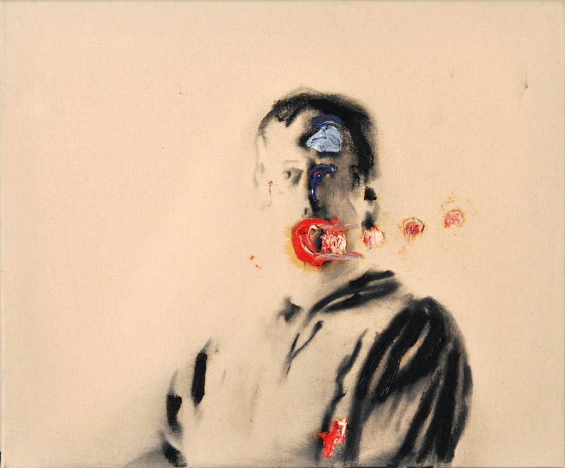 Self Portrait Veuve Clicquot , 2008.