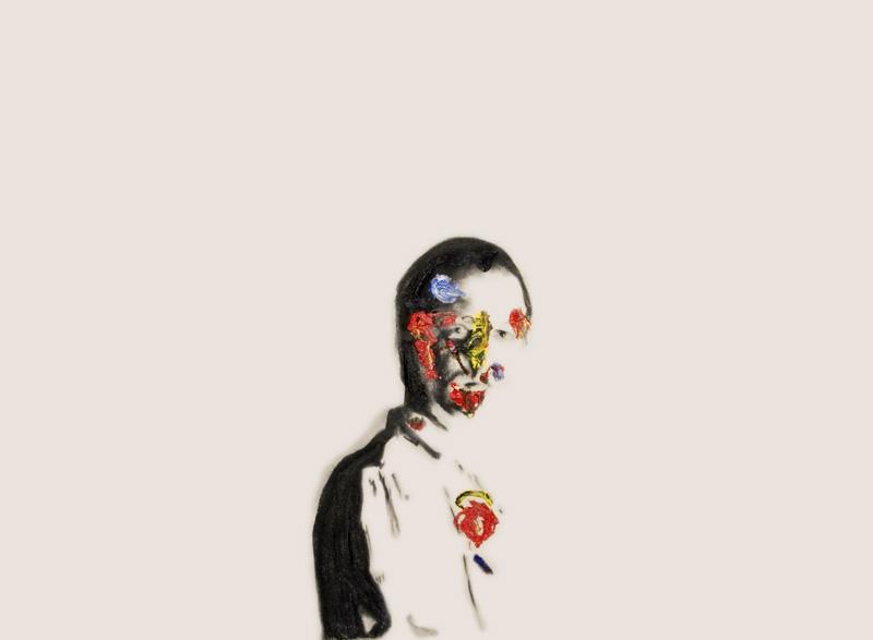 Self Portrait Veuve Clicquot 25 , 2008.