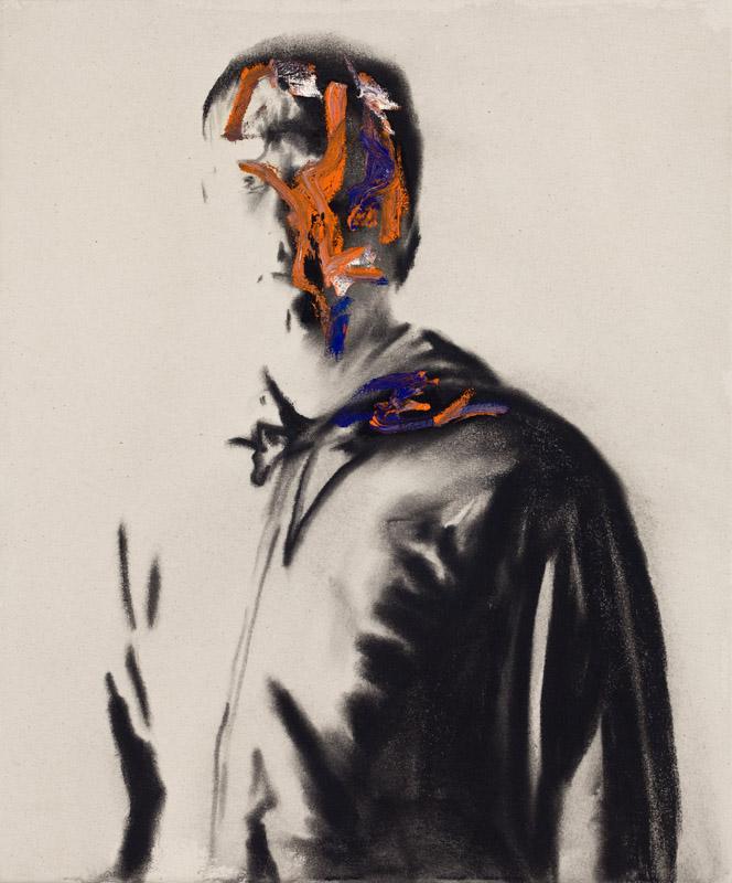 Self Portrait Veuve Clicquot 1 , 2008.