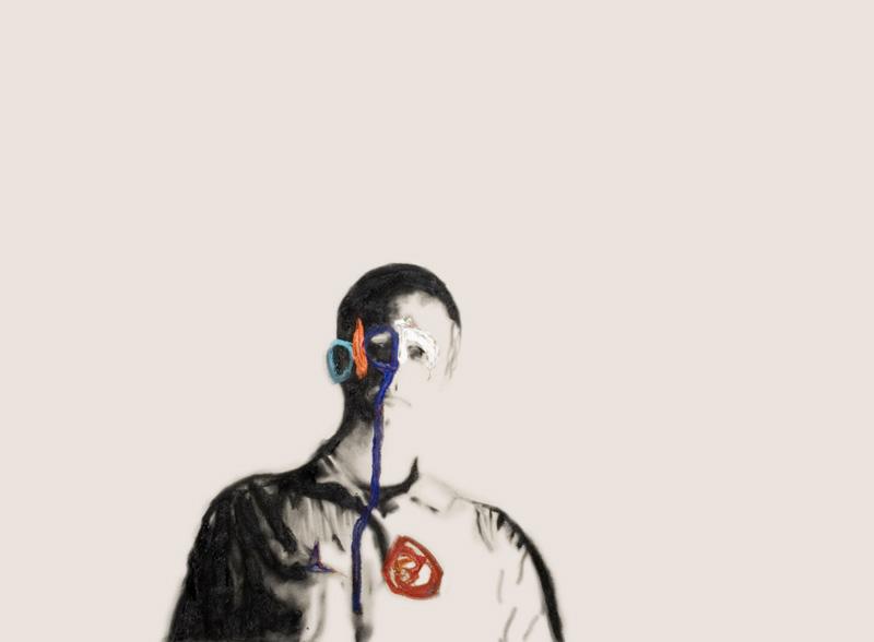 Self Portrait Veuve Clicquot 26 , 2008.