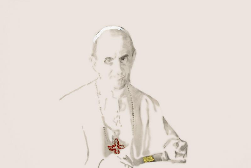 Study for Infallibility,Paul VI, 2008