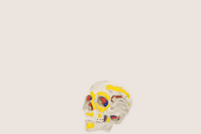 Skulls Primary Colours 1 , 2008.