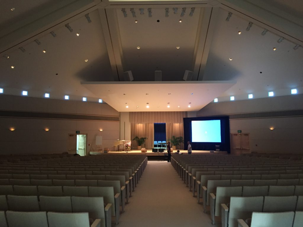 Picture of AV for You Large Screen in Worship Space
