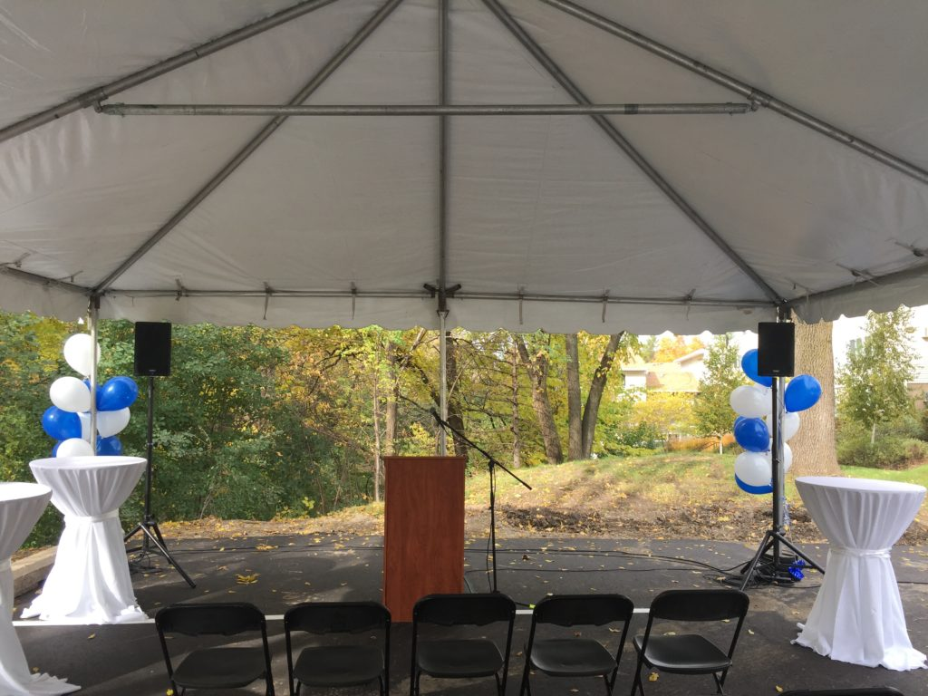 Picture of AV for You Tent Sound System in Eden Prairie