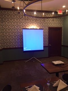 Picture of AV for You Screen and Projector at Murray's