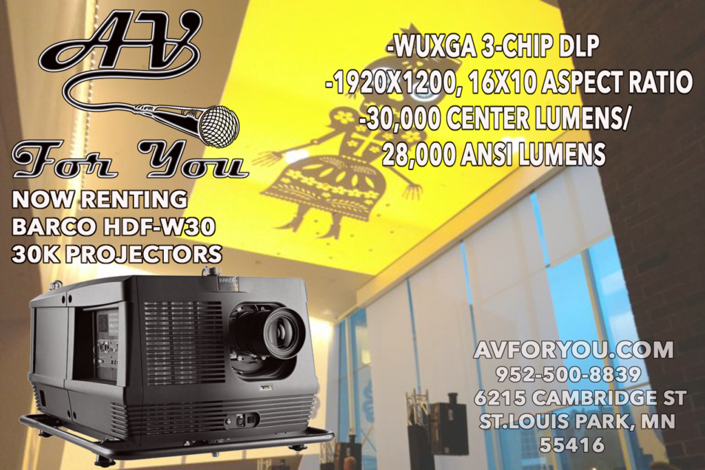 Picture of AV for You 30,000 Lumen Projector