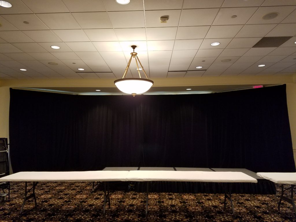 Picture of AV for You 4 panel Pipe and Drape available to rent