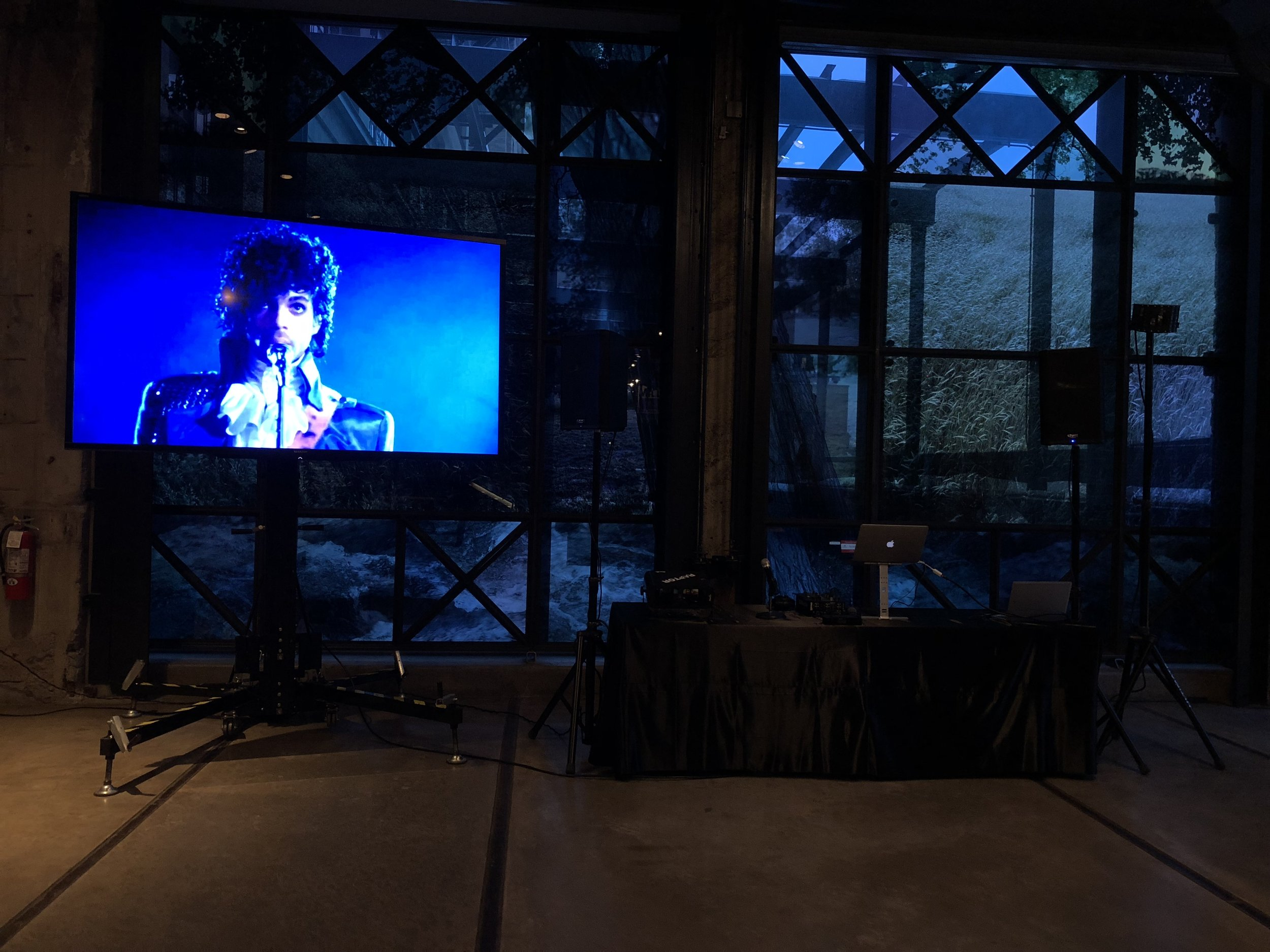 Picture of AV for you TV rental at the Mill City Museum in Minneapolis