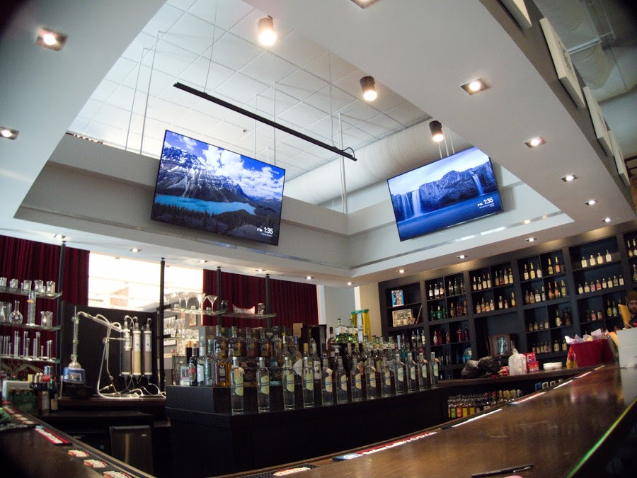 Picture of AV for You TV Rental at Phillips Distillery in Downtown Minneapolis