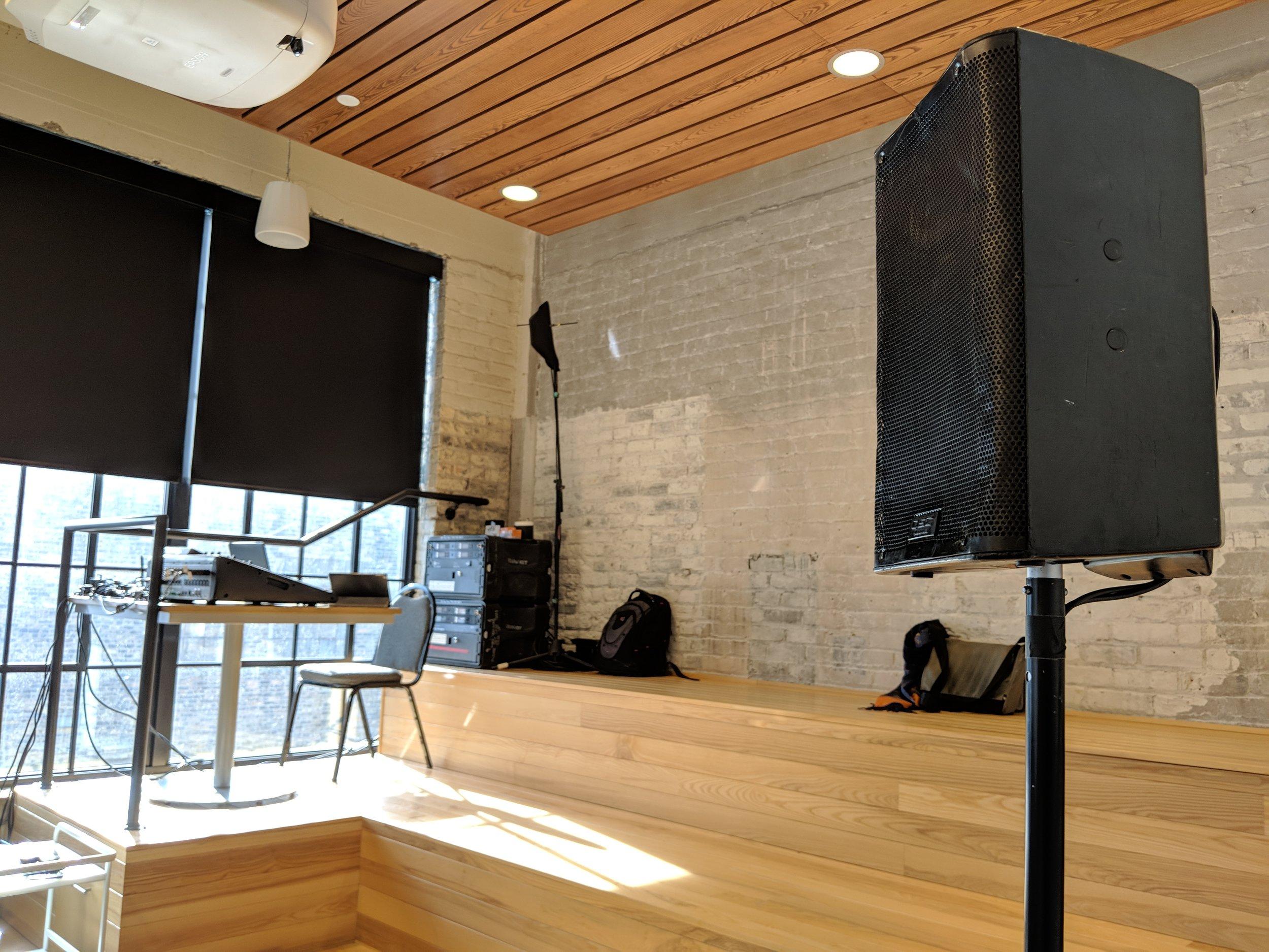 Picture of AV for You speaker rental in Minneapolis