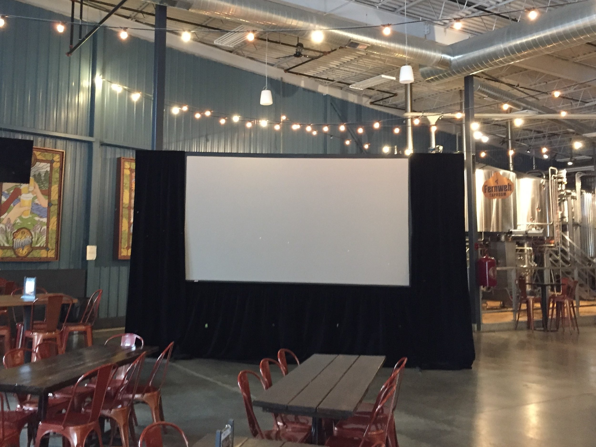 Picture of AV for You projector and screen available to rent in Minneapolis