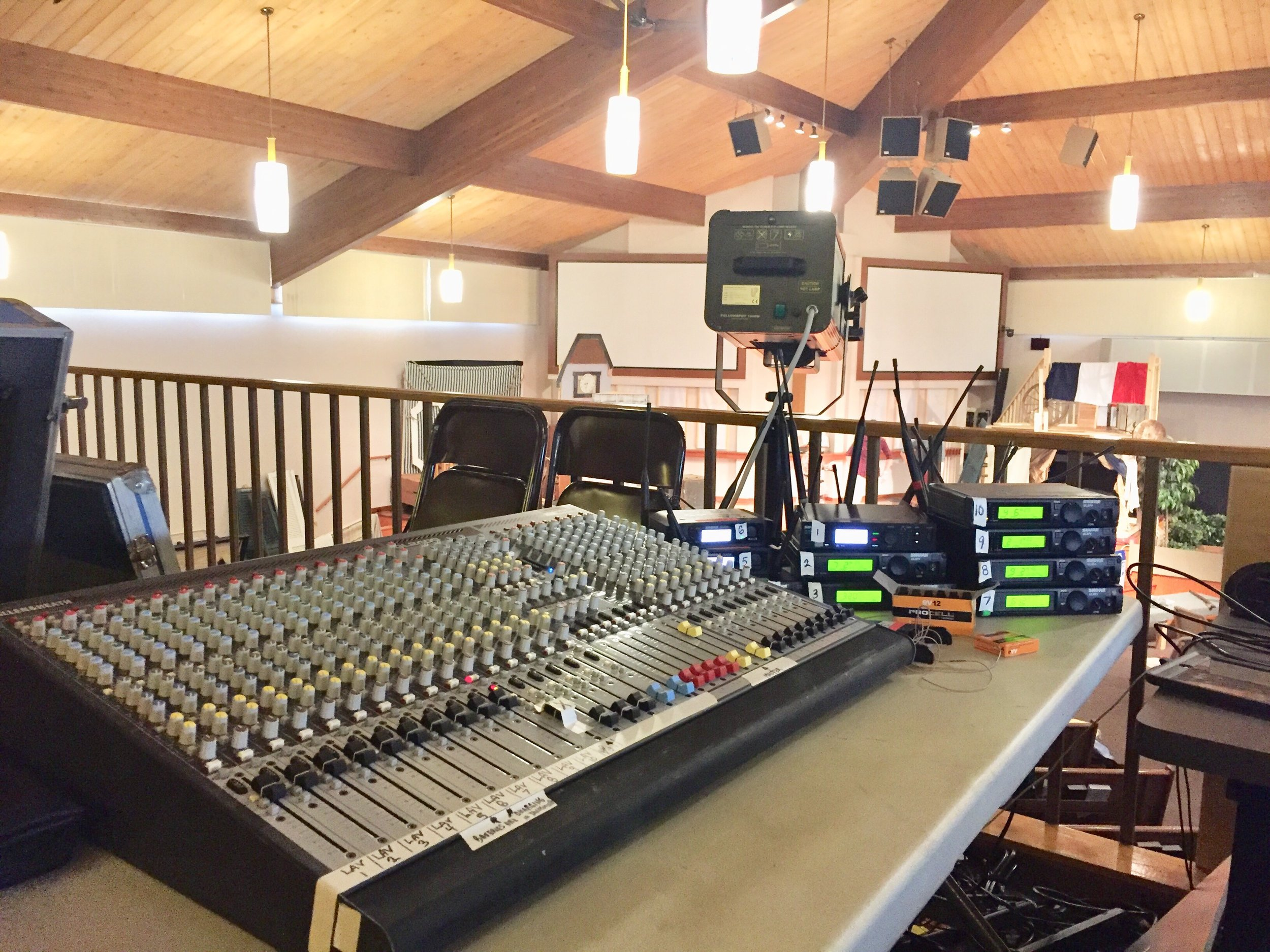 Picture of AV for You microphone and mixer rental in Eagan, MN