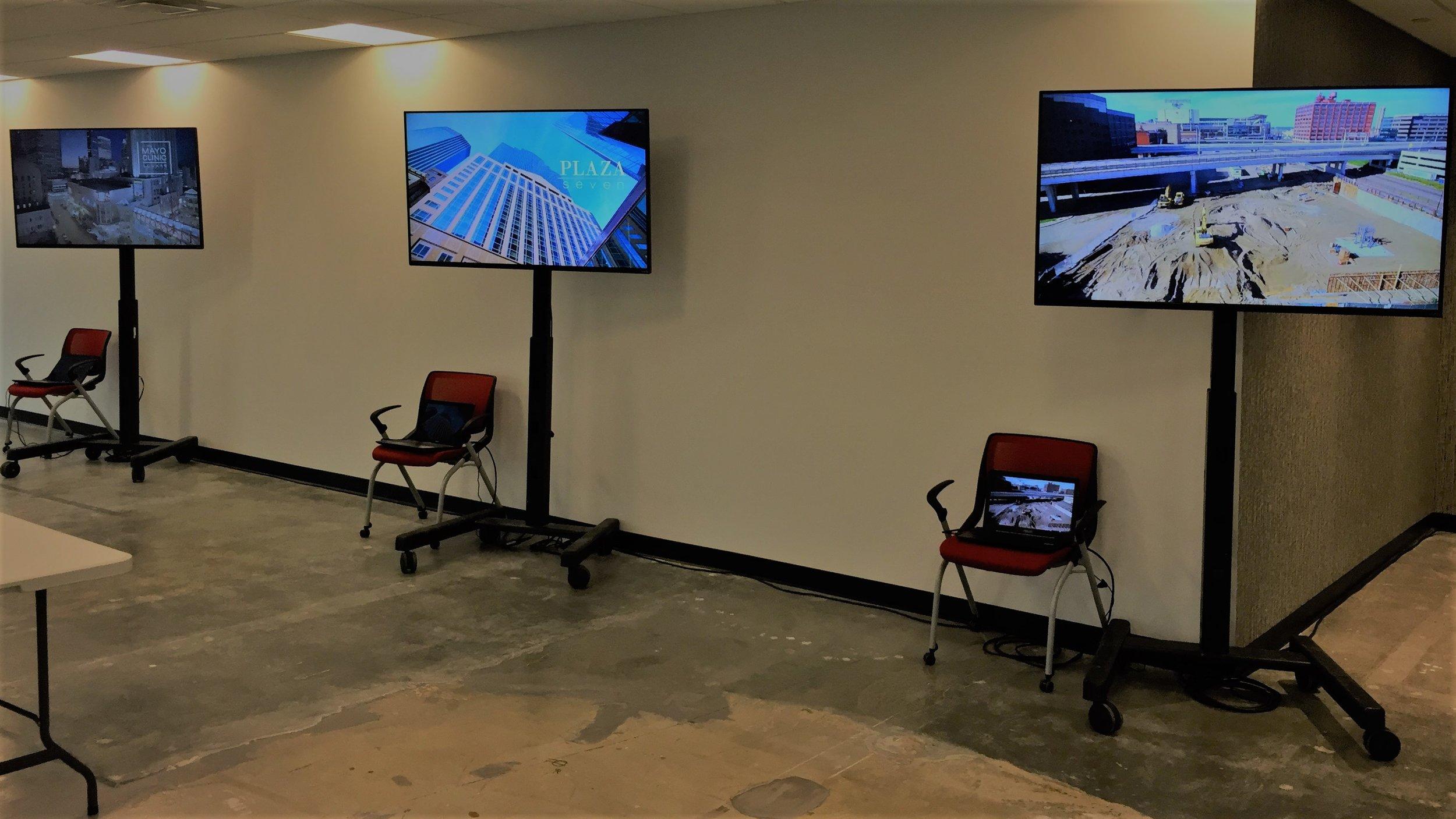 Picture of AV for You TV rental equipment in Minneapolis