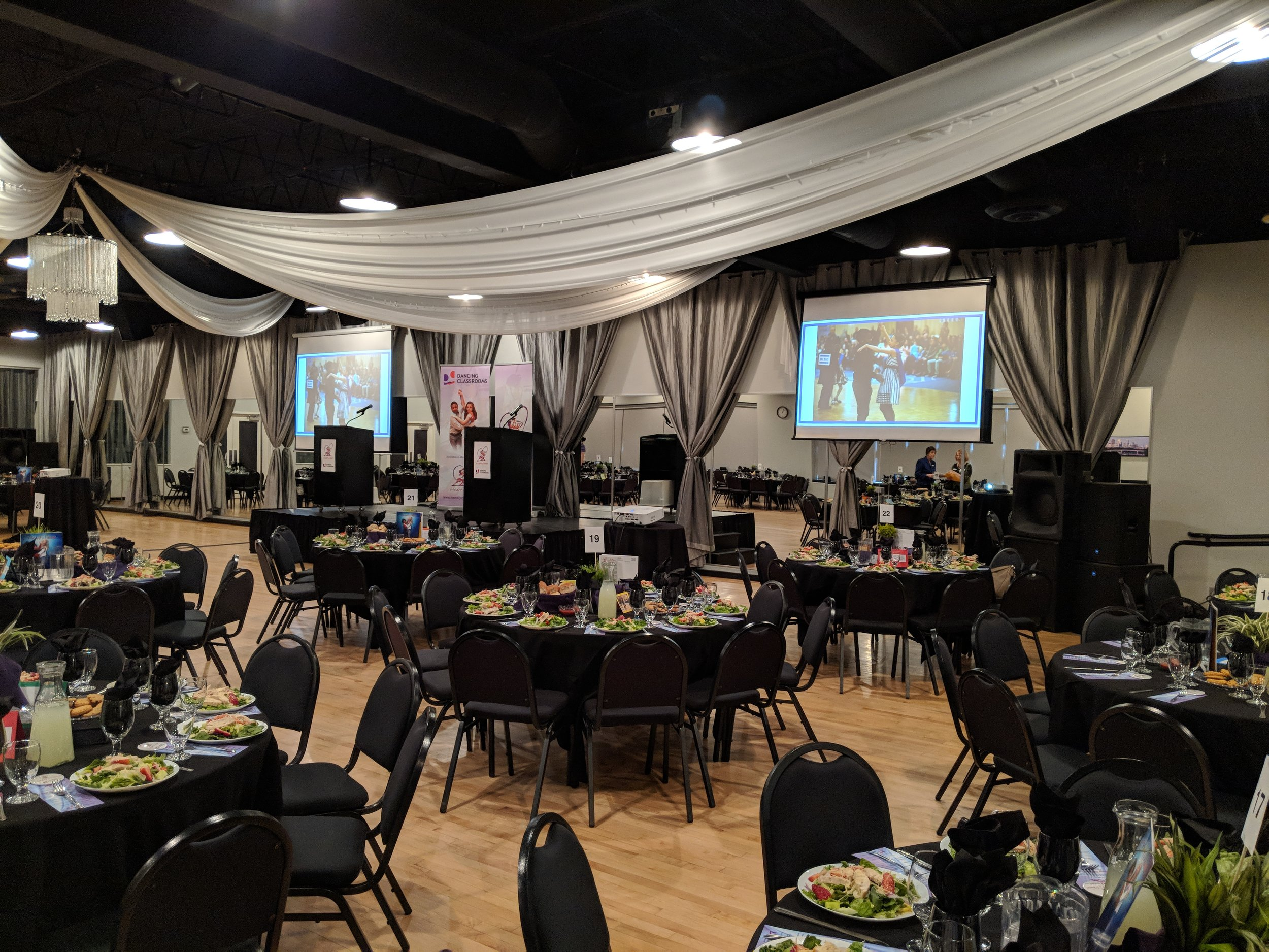 Picture of AV for You audio and video rental at the Midpointe Event Center in St Paul