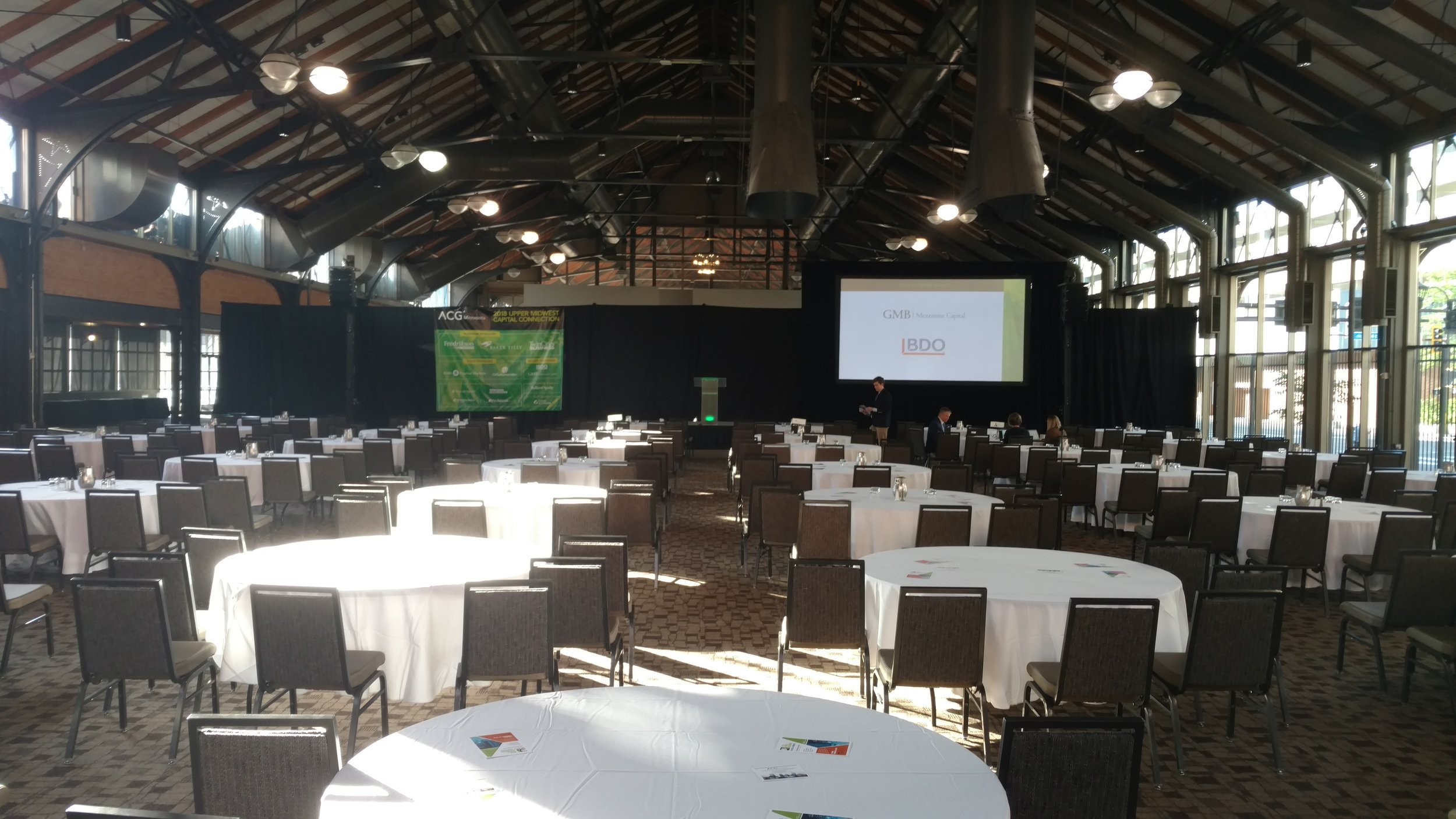 Picture of AV for You audio, video and lighting equipment rental at The Depot in Minneapolis