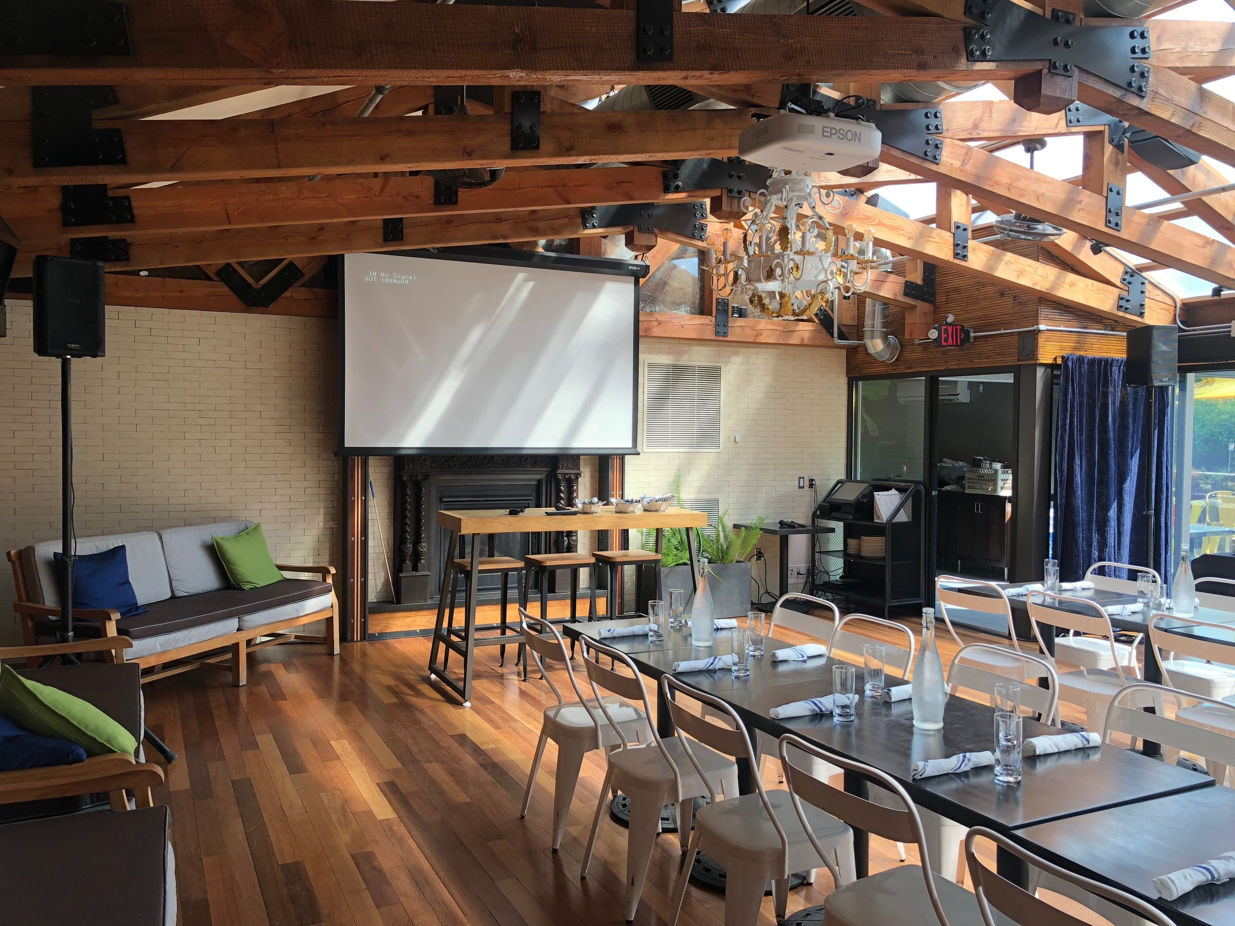Picture of AV for You sound system rental at 4 Bells in Minneapolis