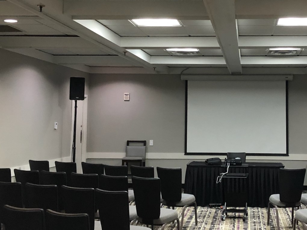 Picture of AV for You speaker and microphone rental in Bloomington
