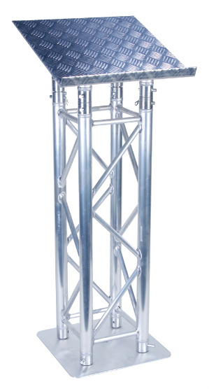 Picture of AV for You truss style podium available to rent